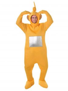 Teletubbies Childrens character costumes laa laa