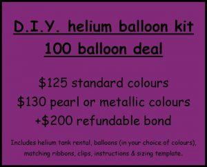 100 diy helium balloons