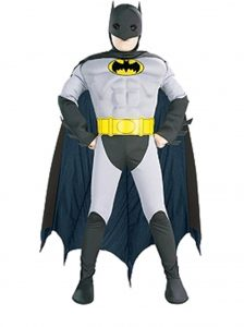 Child's muscle chest Batman costume to buy