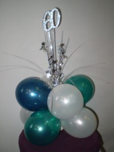 60th party decorations