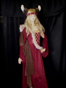 Woman's Viking costume