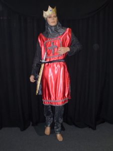 Medieval Royalty King Arthur costume