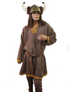 Male Viking costume with tunic