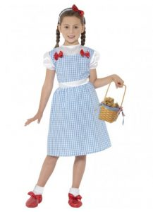 Childs Dorothy style costume