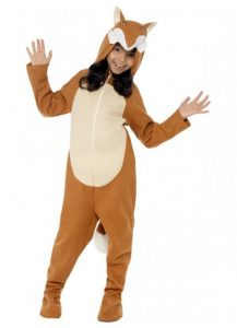 Fox kids costume for book week.