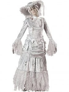 Female Ghost zombie costume