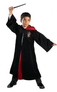 Kids costume- Harry Potter Gryffindor robe.