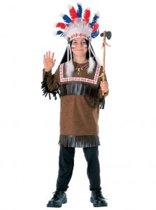 Indian Warrior costume for kid's