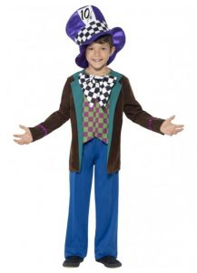 Kids book week costume Mad Hatter style