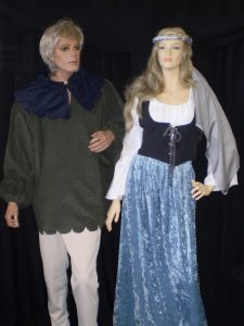 Medieval couples costumes to hire