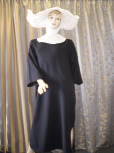 Plus size Flying Nun. Great TV or 70's themed costume. Gowns to fit all sizes.
