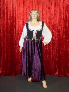 Plus size Medieval costumes for women