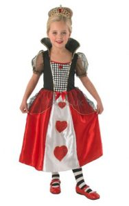 Children's Queen of Hearts costume
