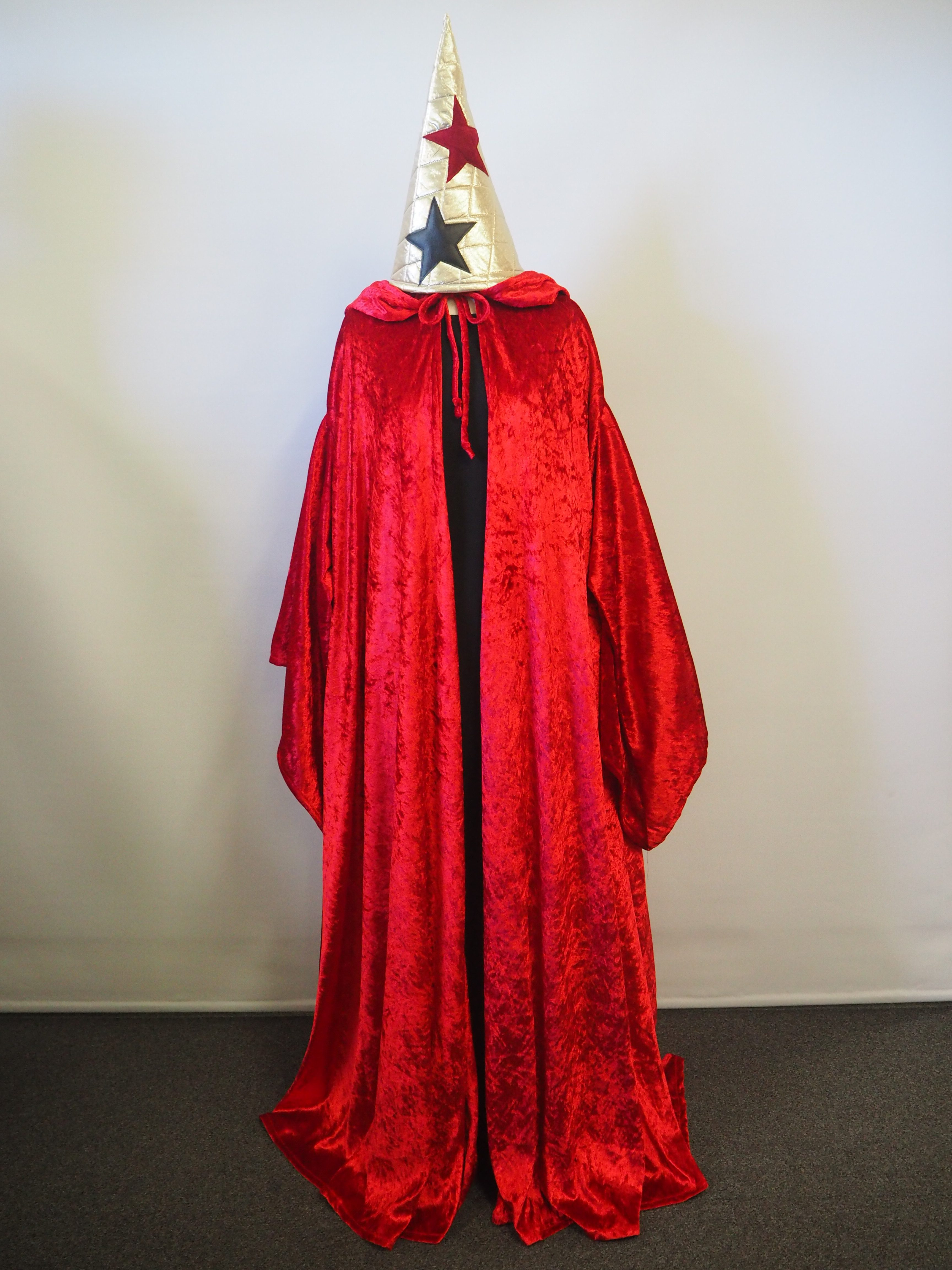 Red Wizard costume Sydney. Red cape Wizard hat u0026 black robe & Witch u0026 Wizard Costumes u0026 Accessories - Acting the Part