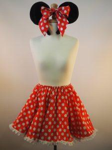 Minnie Mouse skirt & ears