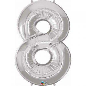 8 jumbo foil helium balloon