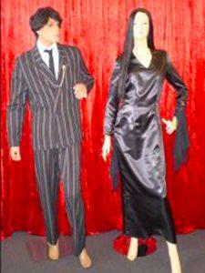 Morticia and Gomez costumes