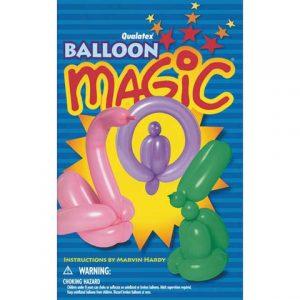 Want to learn balloon twisting? Balloon Magic covers basic twists and more advanced sculptures.