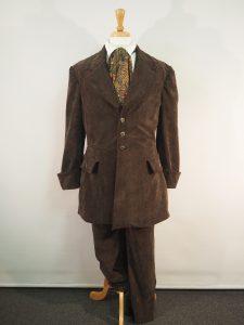 Victorian fashion men's suit