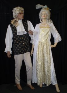 Baroque costumes for a couple