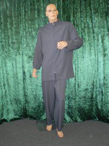 Dr Evil/Blofeld costume