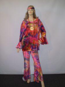 70's plus size tie dye costume