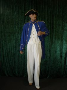 Captain Phillip historical admiral costume