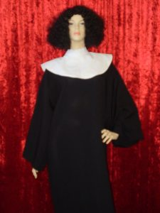 Whoopi. Sister Act inspired Nun costume with wig