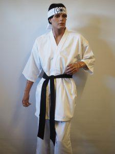 Karate Kid 80's movie costume