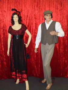 Edwardian fashions Titanic costumes for males and females. Jack and Rose inspired.