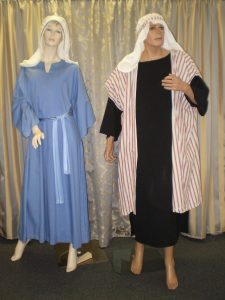 Mary & Joseph Biblical costumes