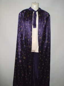 Purple Wizard cape