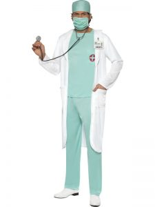 Doctors Lab coat and scrubs