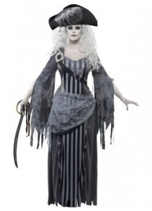 Ghost ship pirate princess, one of our Zombie costumes