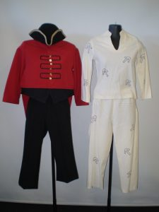 Kid's Red Coat soldier and convict costume available to hire.