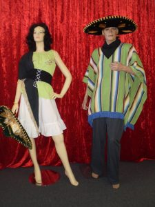 Mexican costumes for men and women
