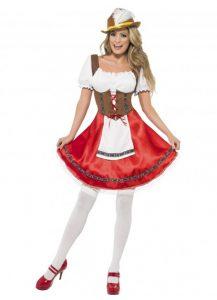 Sexy Bavarian wench costume