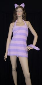 Alice in Wonderland costumes-Cheshire cat dress