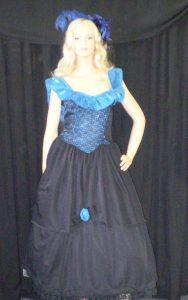 1800's hooped dresss