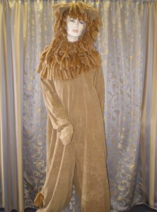 Adult Lion costume. Circus animal costumes. Safari costumes. Animal costumes