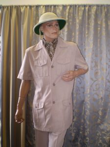 Safari Suit and Pith helmet