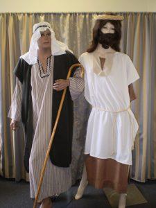 Jesus & Shepherd costume