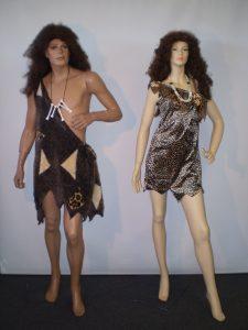 Sexy prehistoric jungle costumes