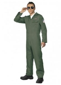 Top gun style pilot jumpsuit to purchase