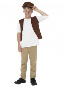 Child's old fashioned colonial vest and cap available to buy.