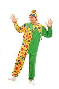 Green and yellow clown costume to buy