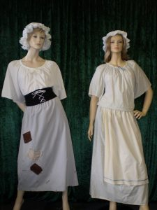convict costumes for women