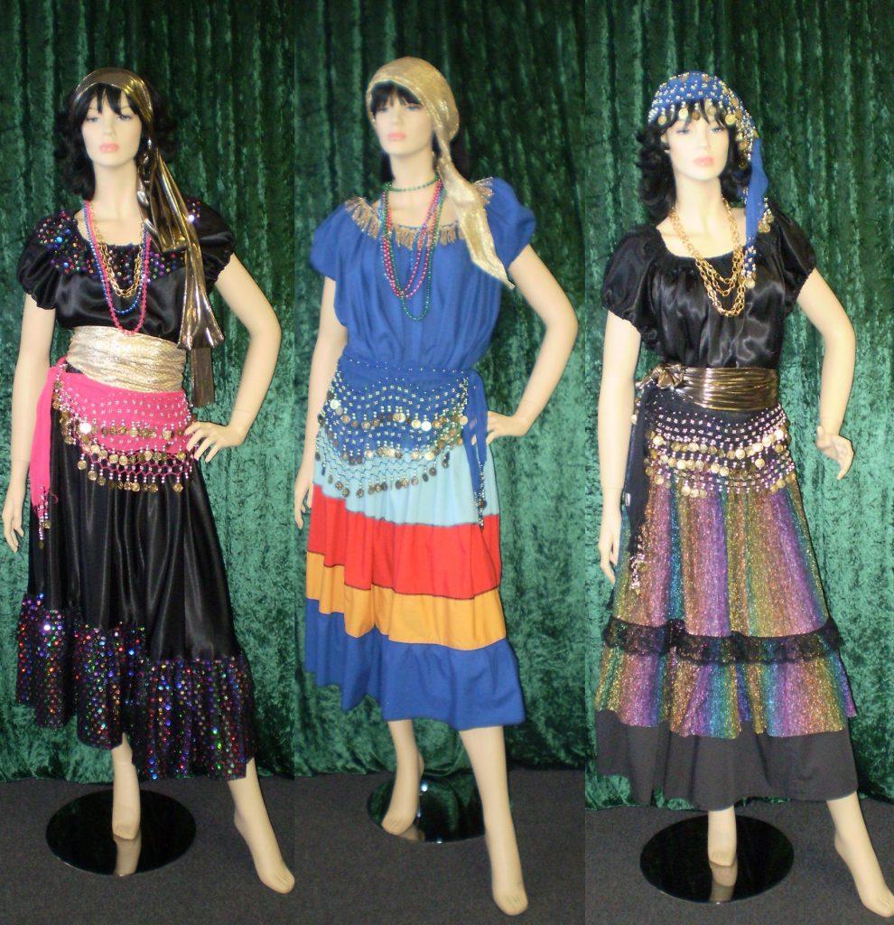 Fortune teller costumes