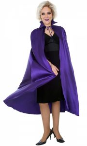 Purple satin cape to buy