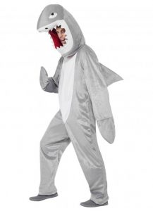 Underwater theme party Shark costume.